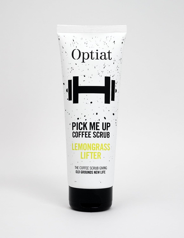 Optiat Pick Me Up Lemongrass Exfoliating Coffee Scrub (220g) Optiat Ltd 90535