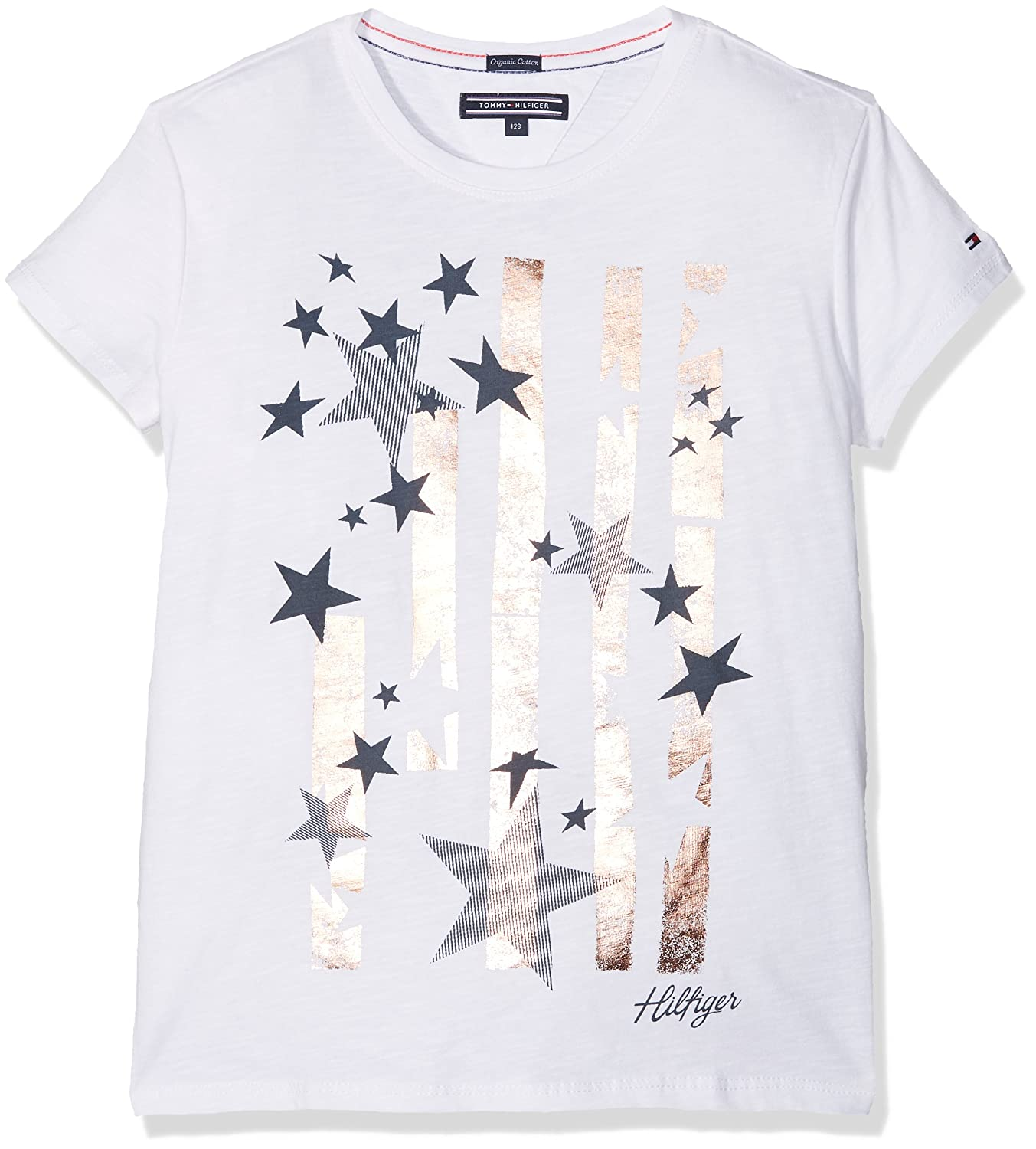 Tommy Hilfiger Fille t Shirts Manches Courtes 110