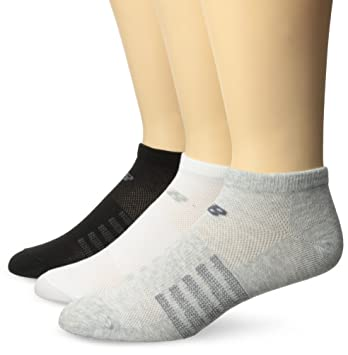 New Balance Unisex 6 Pack No Show Lifestyle Socken, Damen herren ...