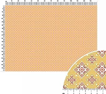 Bellini tela de algodón lisa Metro lineal (140 x 100 cm), color rojo, color rosa y naranja: Amazon.es: Hogar
