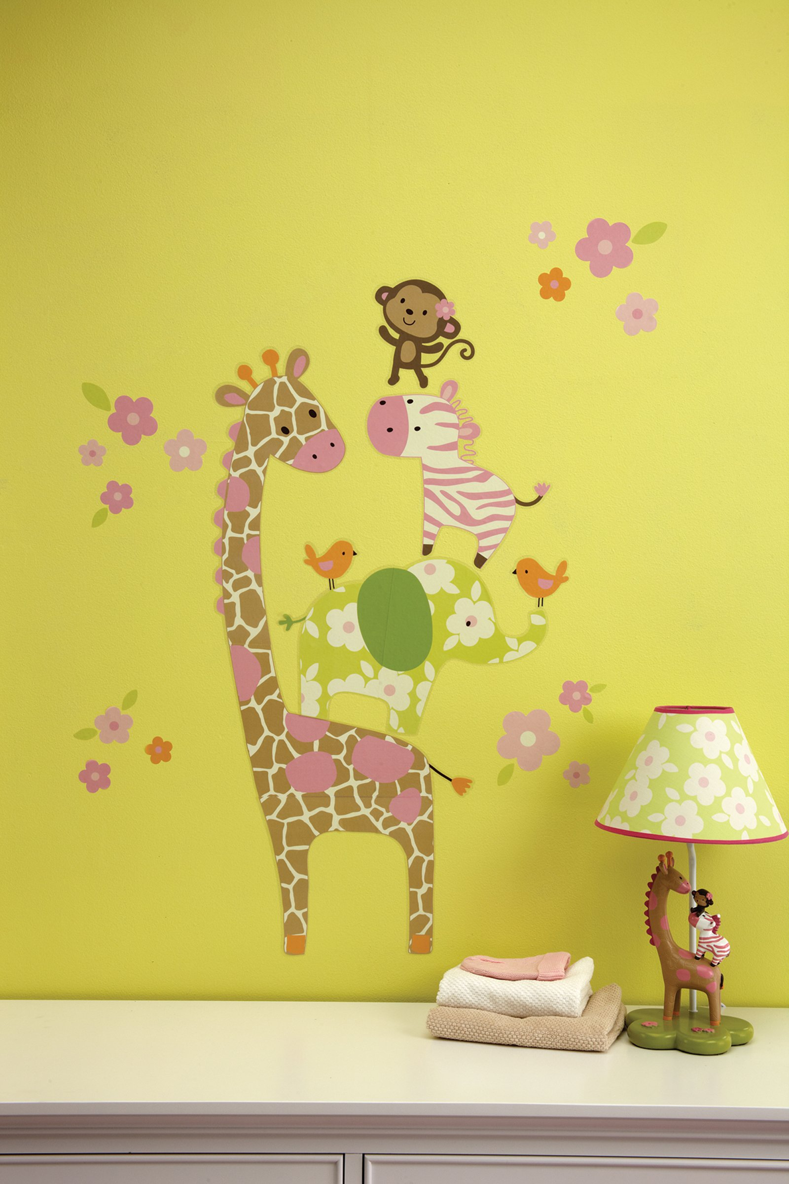 Jungle Jill Wall Decor : Other home decor carter s jungle collection wall decals