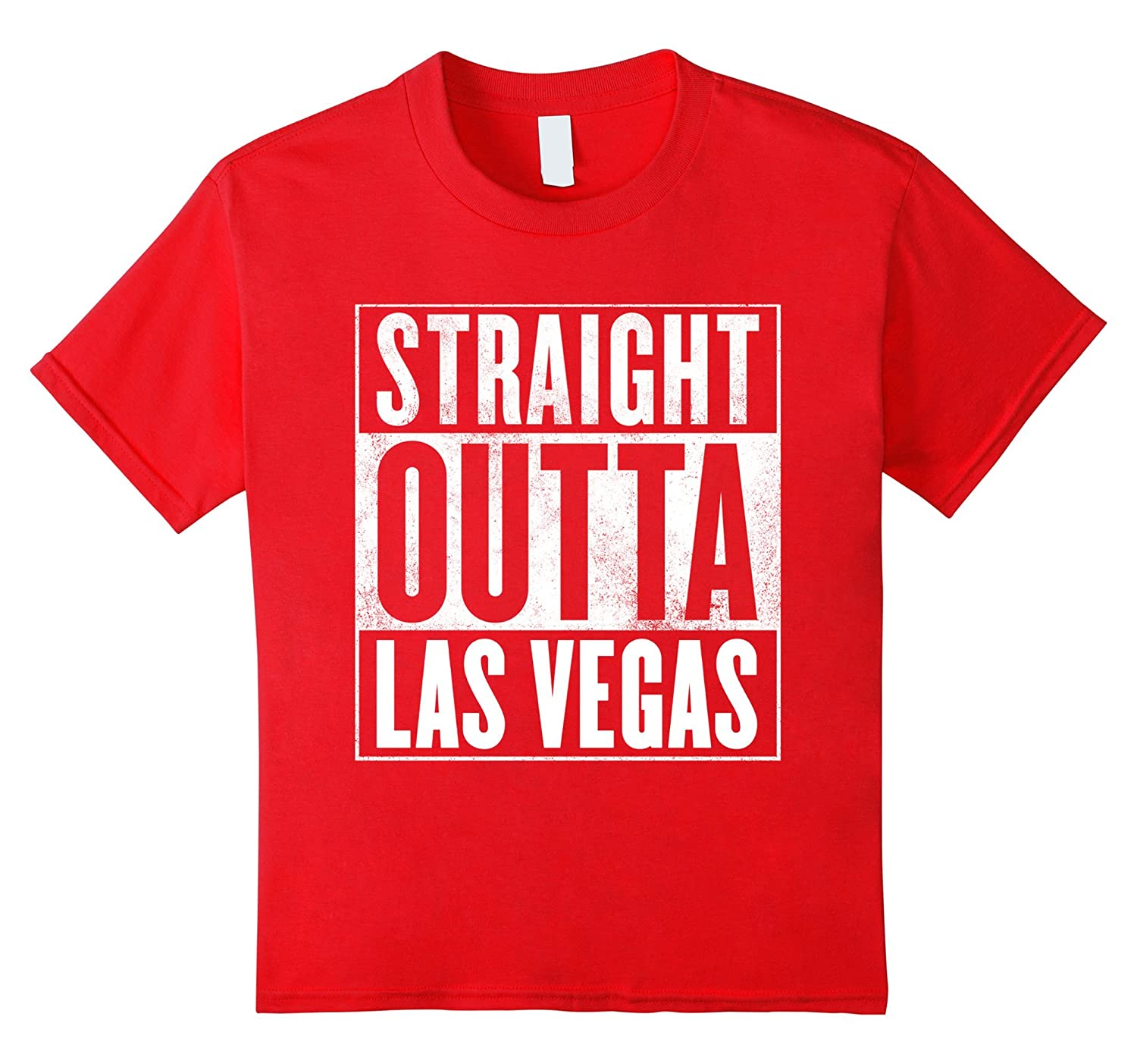 Mens Las Vegas T Shirt STRAIGHT-Awarplus