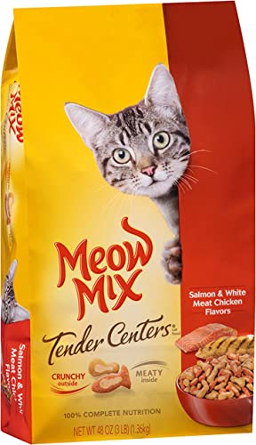 Meow Mix Tender Centers, 3-Pound, Salmon Chicken