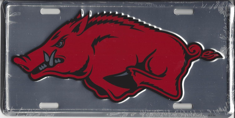 Arkansas Razorbacks Anodized License Plate License Plates Online Auto tag L577.FA4