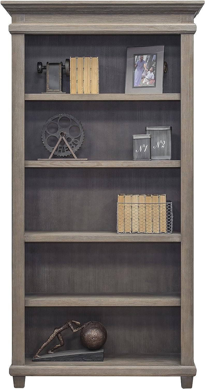 Martin Furniture Open Bookcase, Weathered Dove