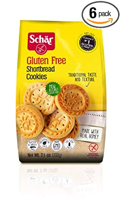 Schar Gluten Galletas, 7-ounce bolsas (Paquete de 6): Amazon ...