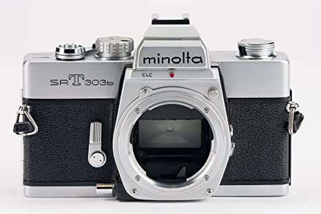 Minolta SRT de 303B srt303b SRT 303 B Body cuerpo de cámara réflex ...