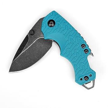 Kershaw KS8700TEALBW Cuchillo Tascabili,Unisex - Adulto, Negro, un tamaño: Amazon.es: Deportes y aire libre