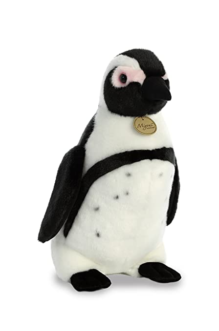 Amazon Com Aurora World Miyoni Large African Penguin Toys Games