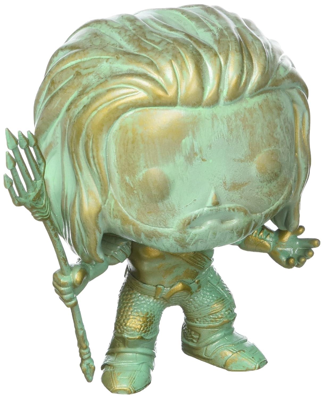 SDCC 2016 EE Exclusive Batman v Superman Aquaman Patina LE Funko Pop Figure FU10264 Accessory Toys /& Games