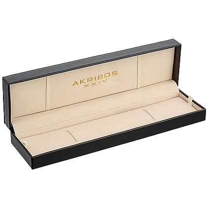 Akribos XXIV Men's AKR415BK