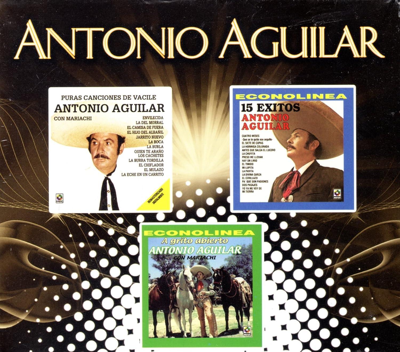 Antonio Aguilar - Puras Canciones De Vacile, 15 Exitos & a Grito Abierto: Antonio Aguilar - Amazon.com Music