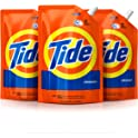 3 Pack Tide HE Turbo Clean Liquid Laundry Detergent Pouches