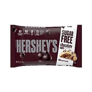 HERSHEY'S Sugar Free Chocolate Chips (8-Ounce Bag)
