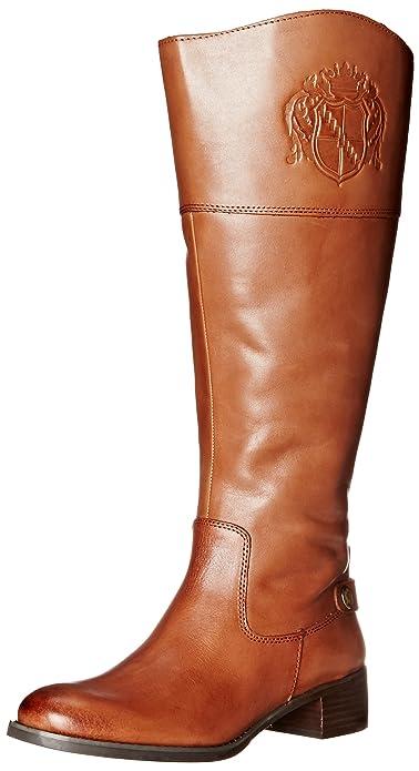Amazon.com | Franco Sarto Chipper Women's Wide Calf Riding Boot ...