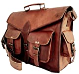 Vintage Leather Messenger Bag for Men Leather