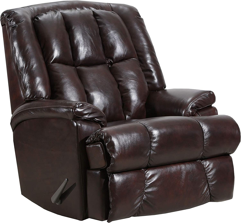 Lane Home Furnishings Leather Wallsaver, Chestnut