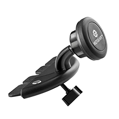 WizGear CD Slot Magnetic Car Mount Holder, for Cell Phones and Mini Tablets with Fast Swift-Snap Technology, Magnetic Cell Phone Mount