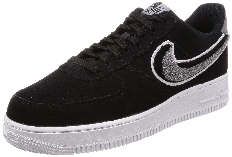 Nike Air Force 1 '07 Lv8, Zapatillas de Gimnasia para Hombre 40.5 EU|Negro (Black/White/Cool Grey/White 014)