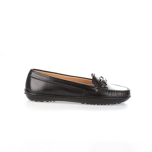 Salvatore Ferragamo - Mocasines para Mujer Negro Negro IT - Marke Größe, Color Negro, Talla 35 EU: Amazon.es: Zapatos y complementos