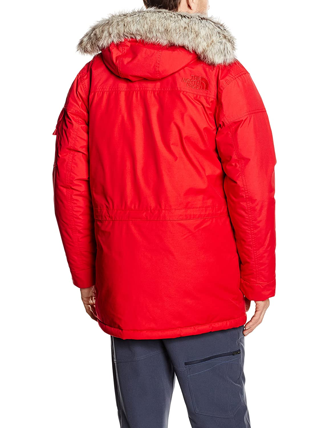 9fd9bb595d The North Face Waterproof Mcmurdo Men's Outdoor Hooded Jacket:  Amazon.co.uk: Sports & Outdoors
