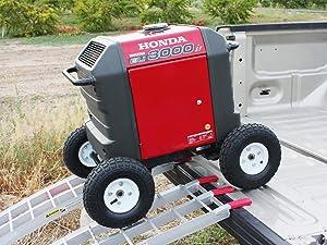 Honda EU3000is generator wheel kit