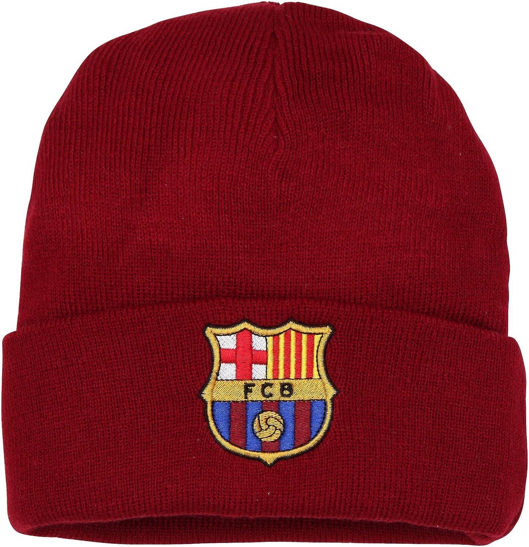 FCB FC Barcelona - Gorro Oficial de Lana de Invierno del FC ...