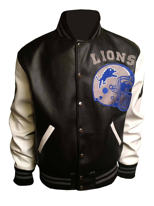 Beverly Hills Cop Axel Foley Detroit Lions Letterman movie Leather Jacket