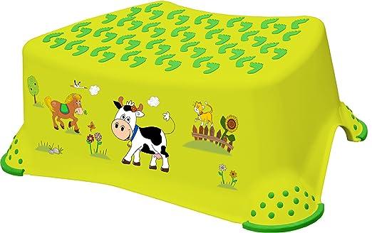 61 opinioni per OKT Pedana scalino antiscivolo per bambini Funny Farm, colore: verde