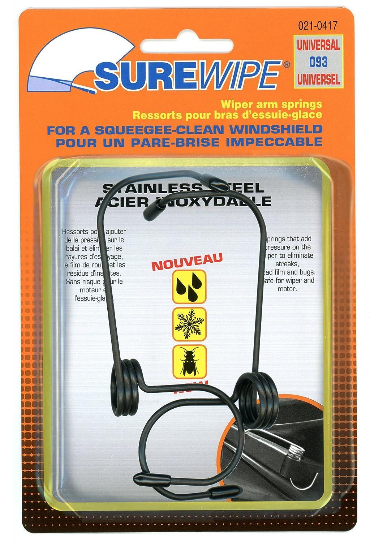 SureWipe -Muelles de presión universales para limpiaparabrisas (paquete de 2): Amazon.es: Coche y moto