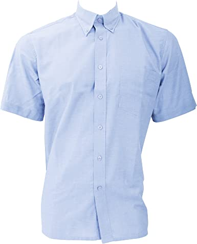Dickies - Camisa de Manga Corta Modelo Oxford Algodón/Poliéster para Hombre Caballero - Fiesta/Trabajo/Eventos Importantes