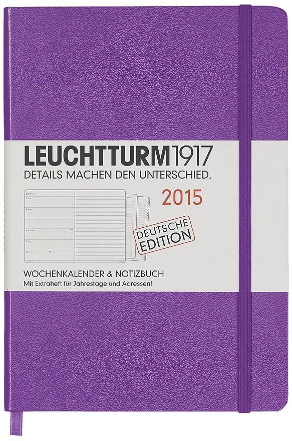 Leuchtturm1917 345279 - Agenda 2015 (A5, incluye cuaderno ...