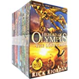 Heroes of Olympus Complete Collection 5 Books Set -The Lost Hero/The Son of Neptune/The Mark of Athena/The Blood of Olympus
