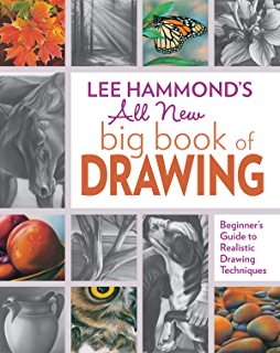Amazing crayon drawing with lee hammond create lifelike portraits lee hammonds all new big book of drawing beginners guide to realistic drawing techniques fandeluxe Image collections