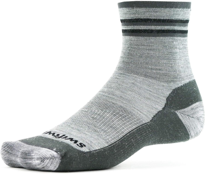 Swiftwick- PURSUIT HIKE FOUR Hiking & Trail Running Socks, Merino Wool