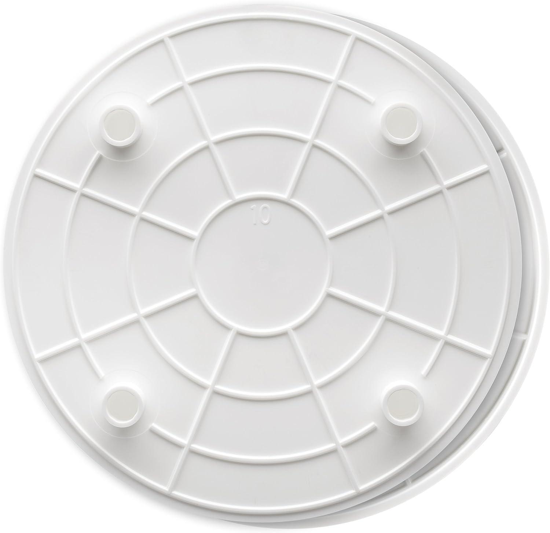 2-Pack Ateco Lady Mary Separator Plate 10 Diameter