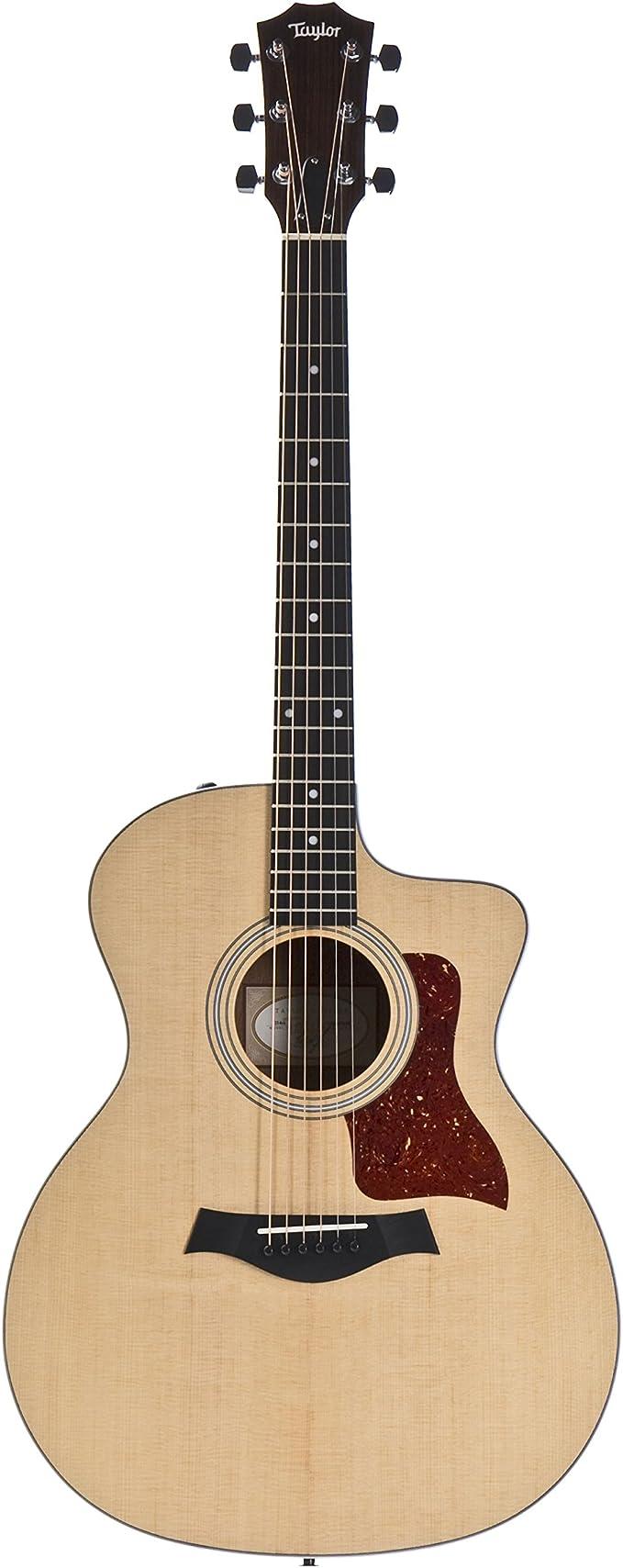 Taylor 214ce · Guitarra acústica: Amazon.es: Instrumentos musicales