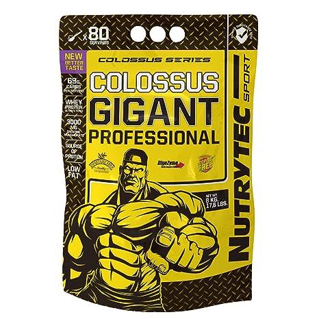 Nutrytec Colossus Gigant 8 kg - Vainilla y Avellana