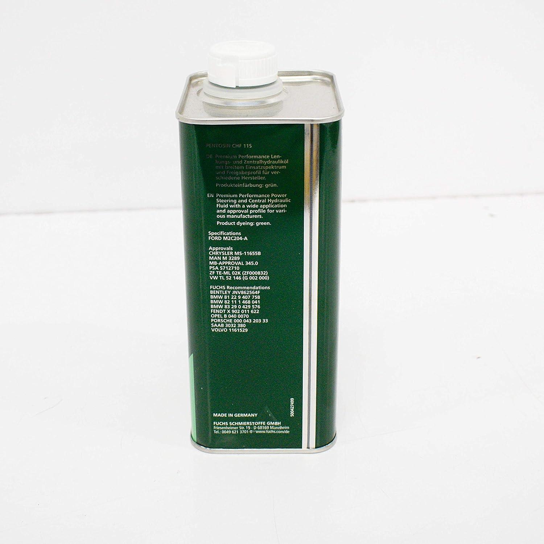 Aceite hidráulico CHF 11 S: Amazon.es: Coche y moto