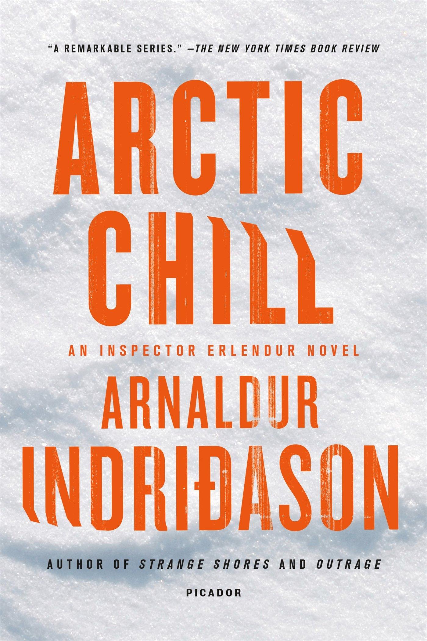 Arctic Chill Inspector Erlendur Novel product image