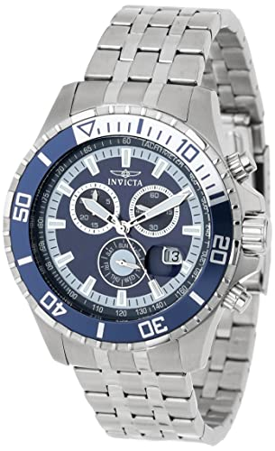 Invicta 13649 Pro Diver cronógrafo azul Dial Acero inoxidable Acero Reloj: Invicta: Amazon.es: Relojes