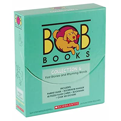 BOB Books Collection 6 Book Box Set [First Stories and Rhyming Words]: Toys & Games