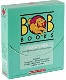 BOB Books Collection 6 Book Box Set [First Stories and Rhyming Words]