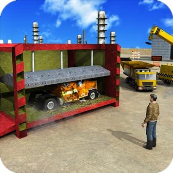 Amazon Com Dump Truck Crusher Crane Operator Garbage Junkyard