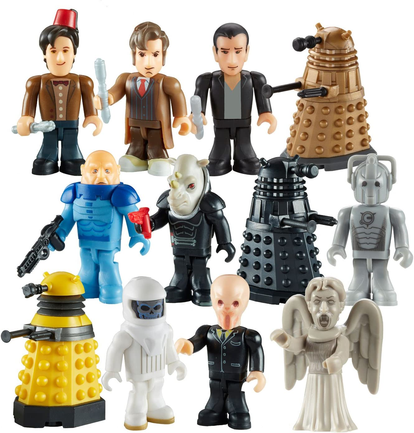 Doctor Who Character Bulding Figures