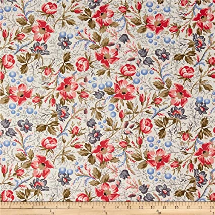 Amazon Com Windham Fabrics Colonial Williamsburg Annies Garden