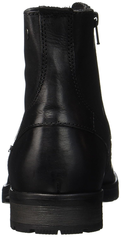 JACK & JONES Herren Jfworca Leather schwarz Klassische Klassische Klassische Stiefel d9e247