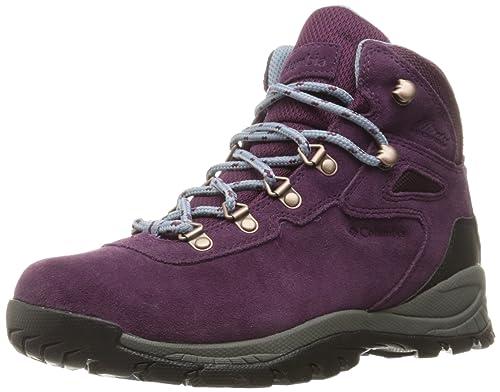 822709dbb7 Columbia Newton Ridge Plus Waterproof Amped - Botas de Senderismo para  Mujer Morado Purple Dahlia Dark Mirage  Amazon.es  Zapatos y complementos