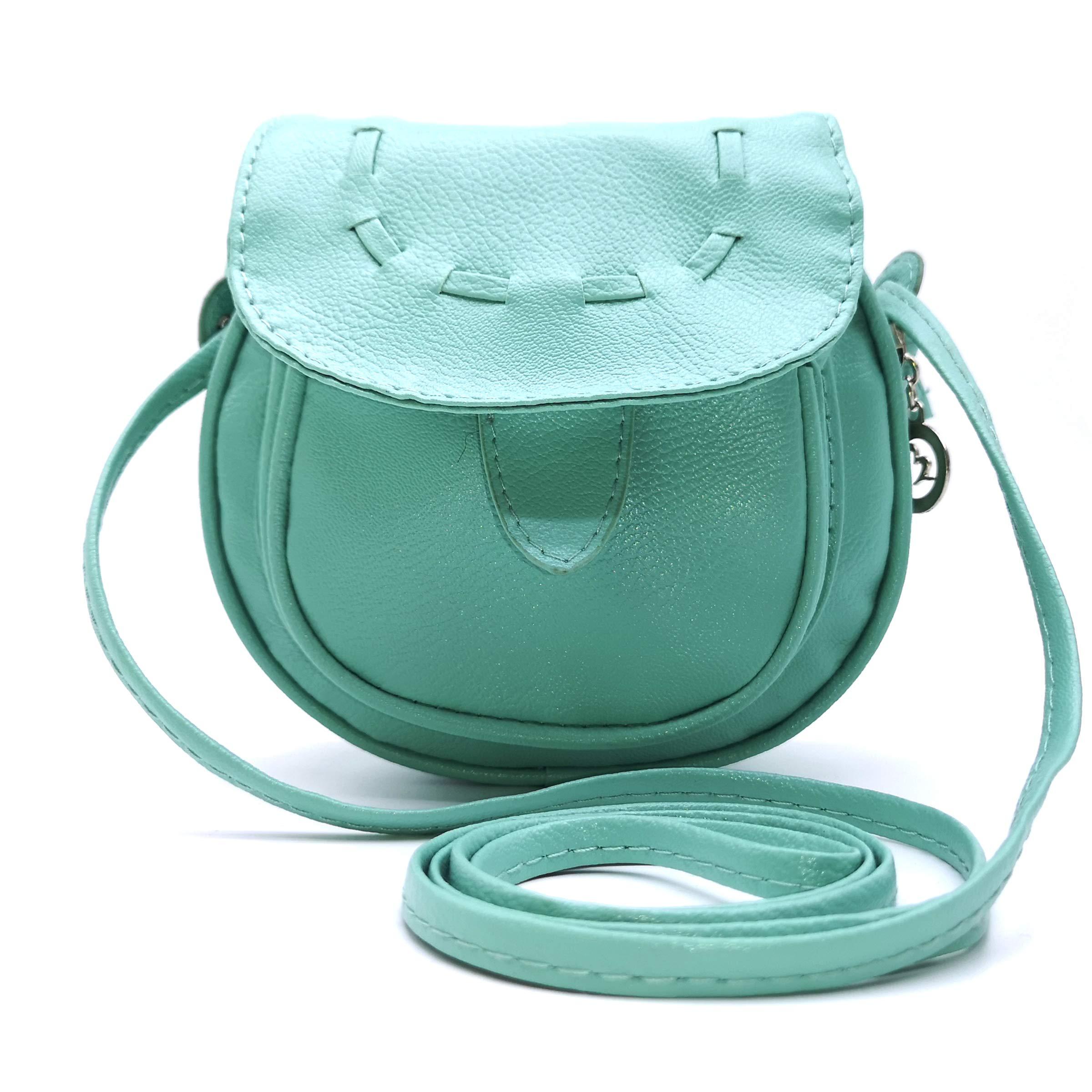 ZENTEII Little Girl's Synthetic Leather Mini Shoulder Bag