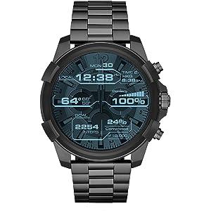 Diesel Reloj Hombre de Digital con Correa en Acero Inoxidable DZT2004